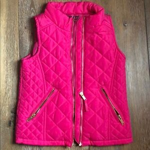 Pink Fashionable Winter Vest